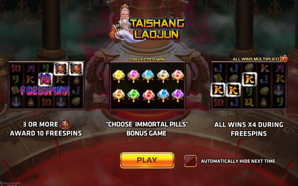 ทางเข้าเล่นเกม Tai Shang Lao Jun