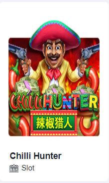 ตัวเกม chilli hunter ของ โจ๊ก เกอร์ สล็อต